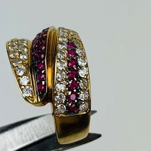 Jewelry - 585 Stamped Gold/Zirconia Ring